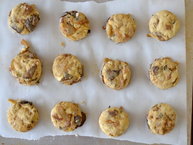beautiful, marbleized scones