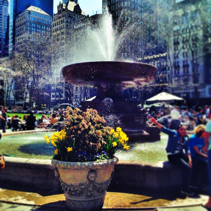 it's springtime in the City